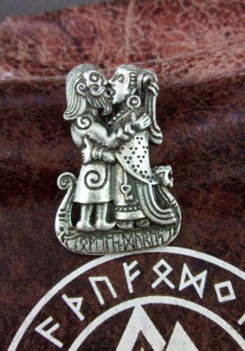 Wikinger Runen Wikinger Paar Liebes Amulett Partnerkette inklusive Kette