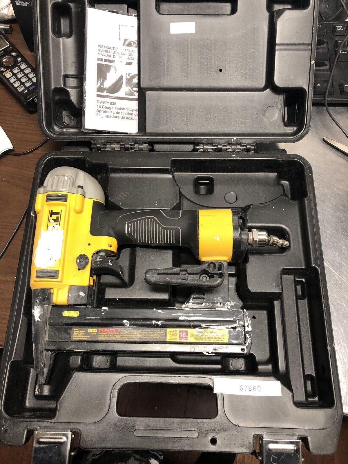 DEWALT DWFP1838 Pneumatic Nail Gun