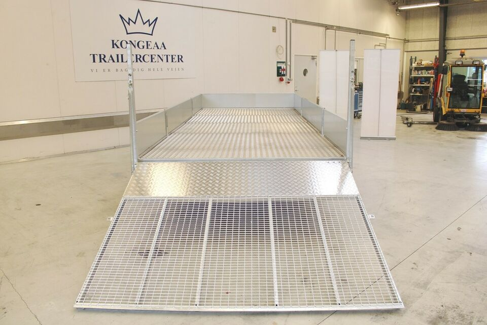 Trailer Ifor Williams LM187G3 m/Alubund - høj rampe -...,