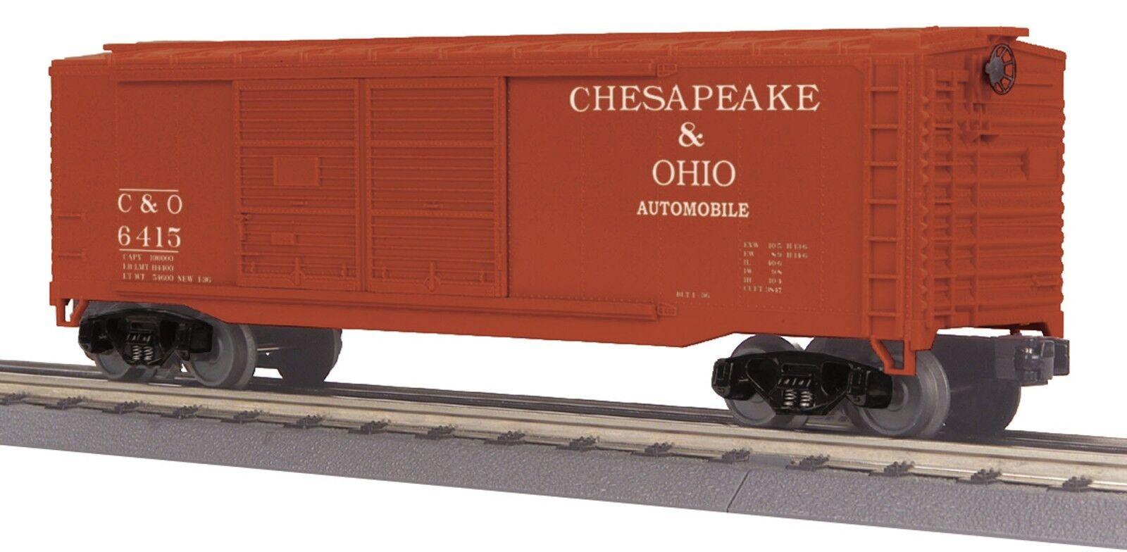 MTH 30-74806, o calibre, 40' doble puerta coche de caja-Chesapeake & Ohio-C&o