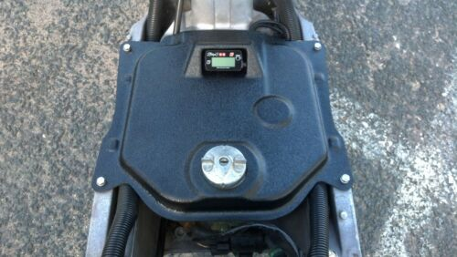 KOSO gauge Honda Ruckus Black Gas Fuel Tank Cover for the Stage 6