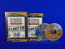 PC EMPIRE EARTH COLLECTION 1 + Art of Conquest Expansion W/ Key