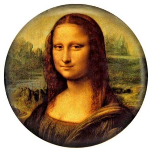 Button Click 5136 AIRBRUSH EMAILLE Mona Lisa kompatibel mit Chunk Armband