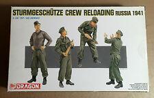 DRAGON 6192 - 1/35 STURMGESCHUTZE CREW RELOADING RUSSIA 1941 - NUOVO