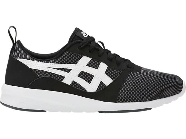 wyprzedaż resztek magazynowych na sprzedaż online najlepiej kochany Men's Unisex ASICS Tiger Lyte Jogger Shoes Trainers Sneakers - Black