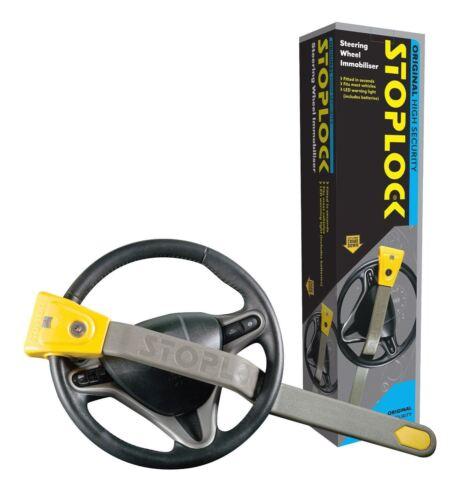 Stoplock Originale Volante Sicurezza Immobiliser Serratura Antifurto con Led