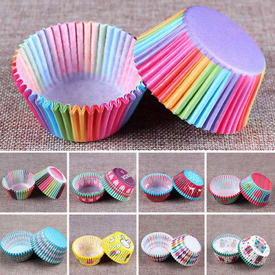 50pcs Cupcake Wrappers Cake Paper Cups Muffin Cases Baking Cup Liner Pastry