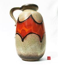 Scheurich Vase 484-27 Fat Lava Era West German Mid Century Modernist Brutalist