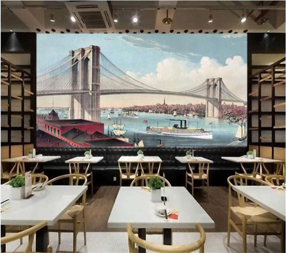 The Great Viaduct 3D Full Wall Mural Photo Wallpaper Printing Home Kids Decor