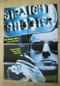 Filmplakt : Straight Shooter ( Dennis Hopper , Katja Flint ) - Braunschweig, Deutschland - Filmplakt : Straight Shooter ( Dennis Hopper , Katja Flint ) - Braunschweig, Deutschland