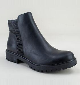 Blowfish Ralo Ankle Shoes Black Boots Women's qPrxqnB