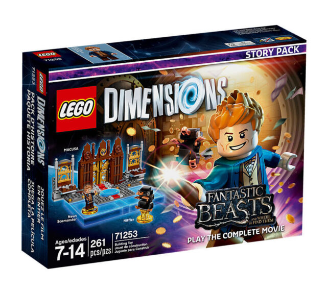 LEGO DIMENSIONS Fantastic Beasts and Where to Find Them Story Pack 2016  (71253) for sale online | eBay