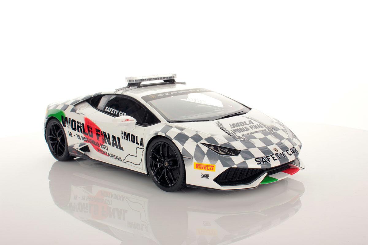 Lamborghini Huracan Safety Car 2017 Looksmart 1 18 New - LS18_SC