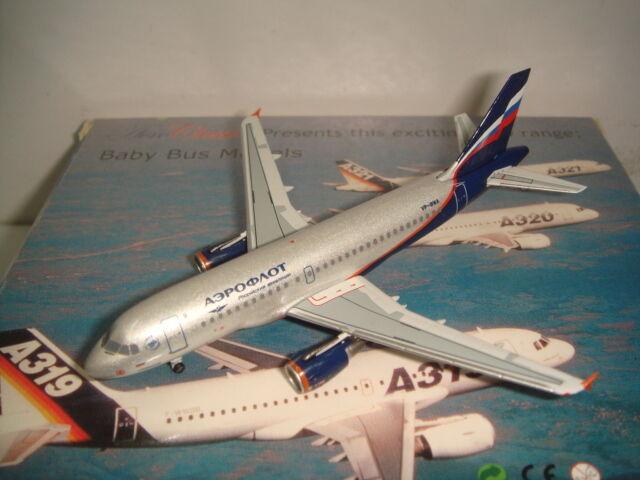 Aeroclassics 400 Aeroflot su A319-100  2000 S couleur-Sergei Prokofiev  1 400