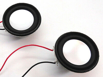 "1.5"" / 38mm 4 Ohm 3 W Audio Speaker - 2 Pack"