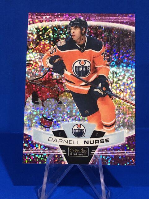 2019-20 O-Pee-Chee Platinum Darnell Nurse Violet Pixels /399 Edmonton Oilers