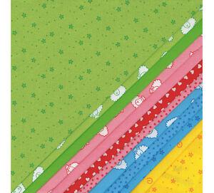 Paquete-De-Tela-Fat-Cuarto-12x-48cm-x-PATCHWORK-westfalenstoff-Nino-Linea