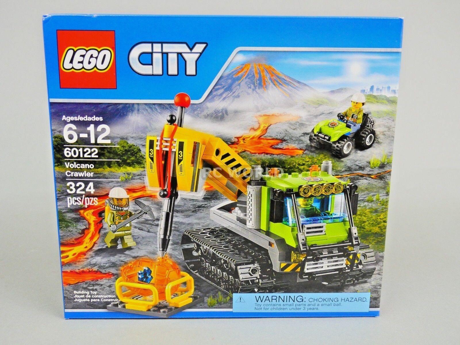 Lego city vulkan - forscher vulkan crawler   60122   r3