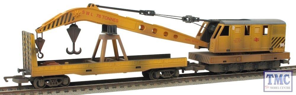 R6369 Hornby OO Gauge RailRoad Breakdown Crane TMC Weatherojo