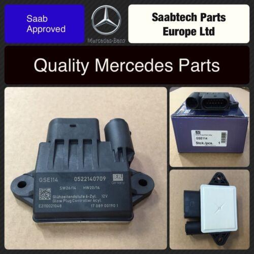 Mercedes C-E-G-M R-Classe S /& SPRINTER-GLOW PLUG Relay Module de commande 6421530379