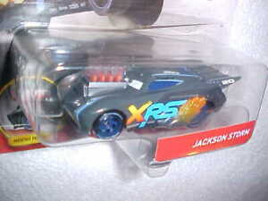 HW-DISNEY-PIXAR-CARS-DRAG-RACING-034-JACKSON-STORM-034-w-MOVING-PISTONS-VHTF-NEW-CAR