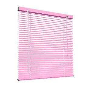 Jalousie Klemmfix Rollo Alujalousie Jalousette Aluminiumjalousie 80x130 cm pink