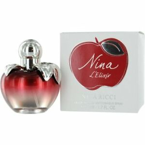 50ml 1.6 oz Nina l'elixir by Nina Ricci Eau De Parfum Spray Women Perfume RARE