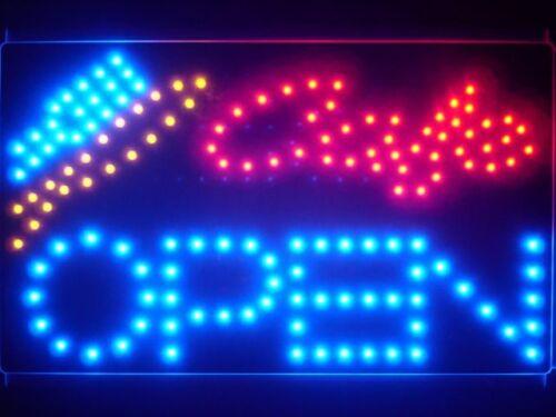 research.unir.net led133-b Cafe OPEN Bar Beer Led Neon Sign ...