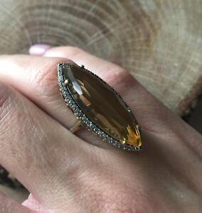 Turkish-Handmade-Jewelry-Sterling-Silver-925-Peridot-Ladies-Ring-6-7-8-9