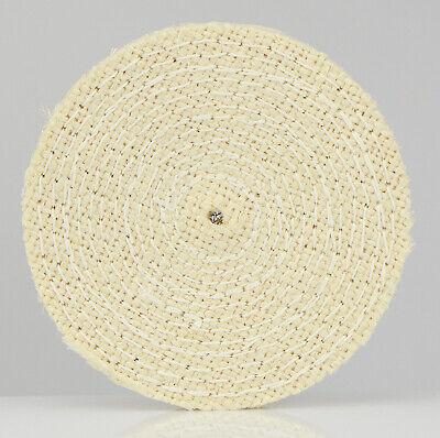Polierscheibe Schwabbelscheibe Sisal gesteppt Ø 150 x 20 mm Grob