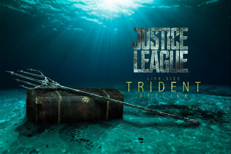 AQUAhomme  - Trident 1 1 Scale Justice League Prop Replica (Ikon Collectables)  nouveau  meilleure qualité meilleur prix