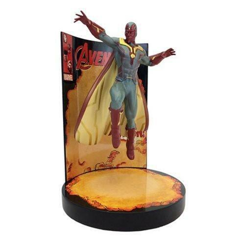 Marvel Comics The Avengers Behold The Vision Premium Motion Statue
