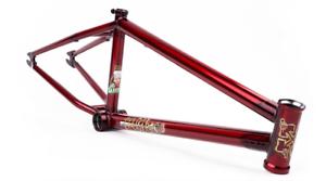 Ajuste las bicicletas SLEEPER 20.75 Trans rojo Ethan CORRIERE SIG BMX Marco de bicicleta 20.75