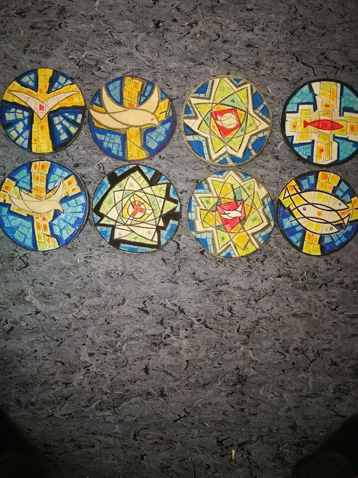Karl Heilesen - skitser til kirkevinduer