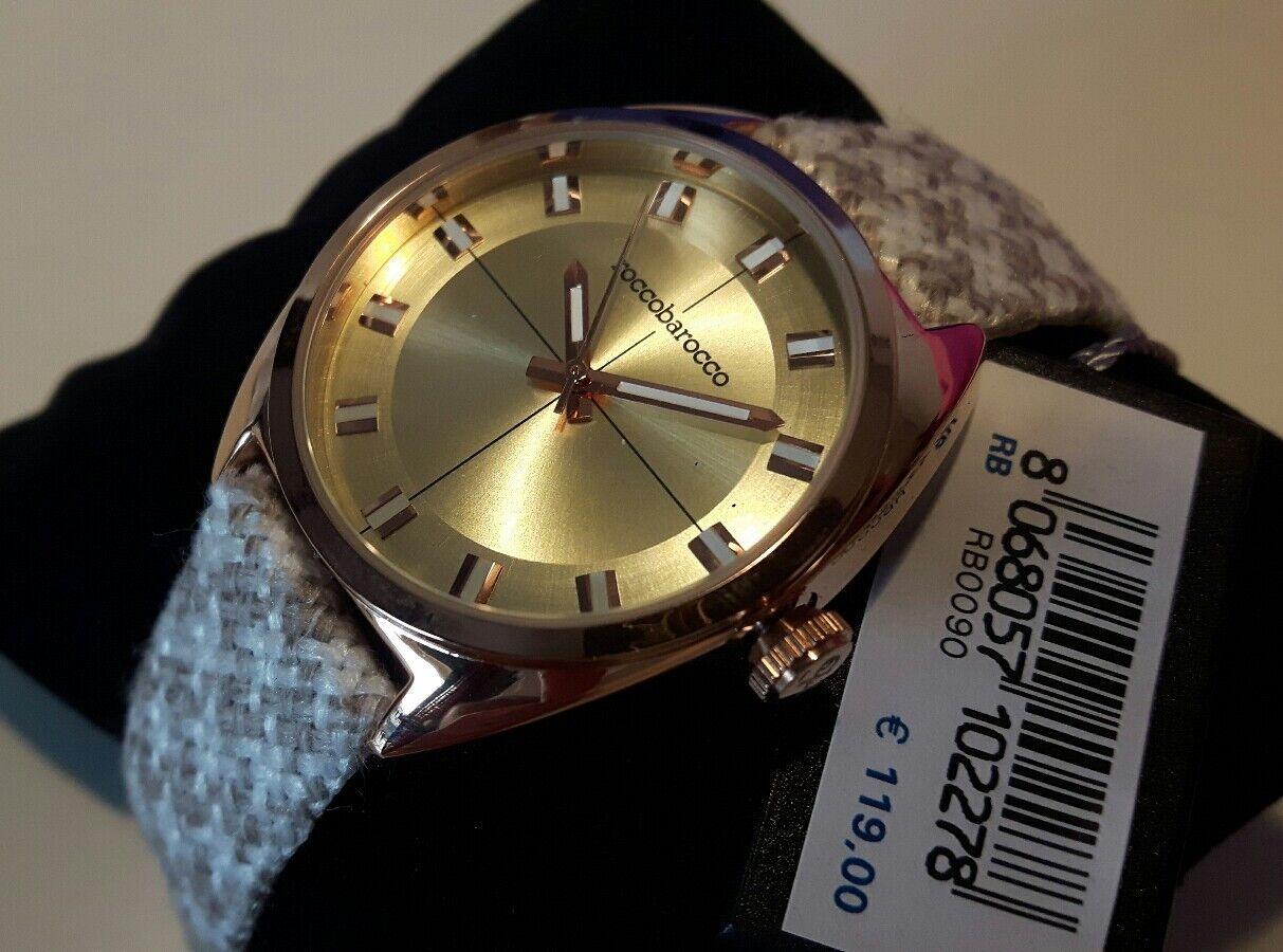Reloj Mujer Rb0090 Cuarzo De Roccobarocco 8mNw0nv