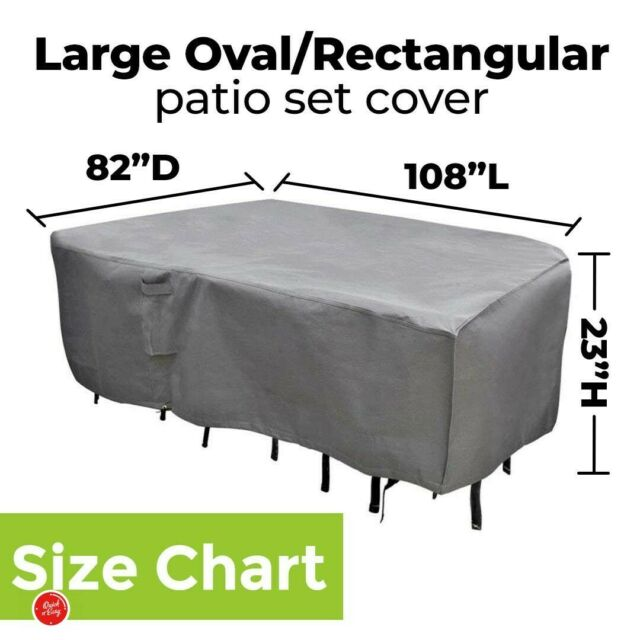 Patio Furniture Cover M H Extra Large