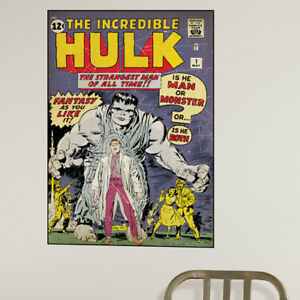 Image Is Loading Roommates Hulk Wall Sticker Poster Kids Comic Book