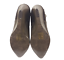 thumbnail 11 - Womens Ladies Coffee Faux Leather High Wedge Heel Shoes Ankle Boots Size 8 New