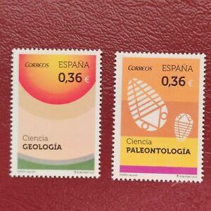 España año 2012 Ciencia Nº 4734 y 4735 MNH