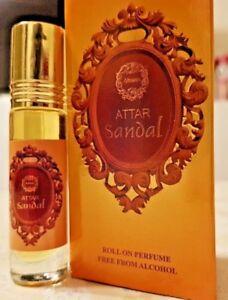 Attar-Sandal-8ml-By-Ahsan-Sandalwood-Spicy-Woody-Amber-Musk-Roll-On-Perfume-Oil