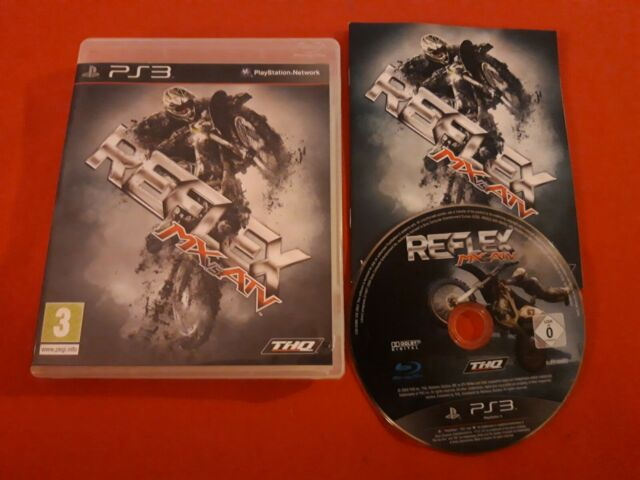 MX VS. ATV REFLEX PLAYSTATION 3 PS3 SONY PAL COMPLET VF