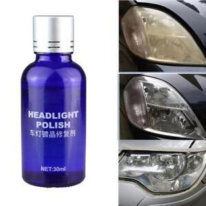 Car-Auto-9H-Hardness-Headlight-Lens-Restorer-Repair-Liquid-Polish-Cleaner-30ML