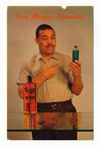 RARE-1955-Rose-Morgan-JOE-LOUIS-Boxing-Cosmetics-Ad-Postcard-Card-Boxer