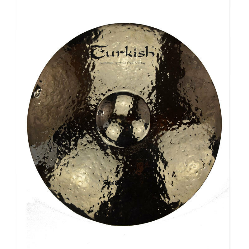 TURKISH CYMBALS cymbale Rock Beat Raw Ride 21  3557g