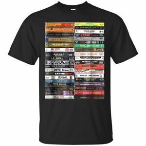Old-School-Cassette-Tapes-Funny-MeMe-gift-Short-Sleeve-Black-T-Shirt-Size-S-5XL