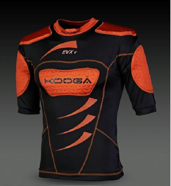 Corpetto maglia protezione KOOGA EVX V Body Armour Rugby  Super price