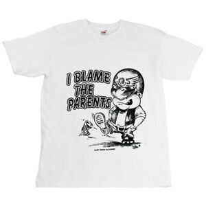 Motorcycle-Biker-T-Shirt-Kids-Childrens-I-Blame-The-Parents-Logo
