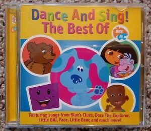 Dance And Sing The Best Of Nick Jr Dora Blues Clues Little Bear