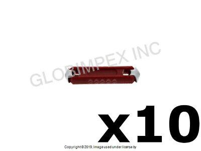 40 Car Automotive Vehicle 8A-25A GBC Zinc Alloy Bullet Torpedo Ceramic Fuse Kits