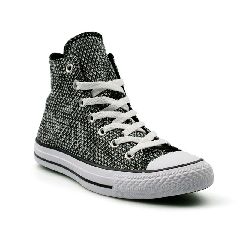 836886334c74 Converse CTAS Chuck Taylor All Star Hi Snake Woven Black Women s Trainers.  UK 3 - EU 35